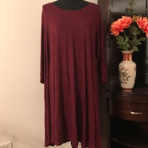 NWT STYLE AND CO SOLID DRESS